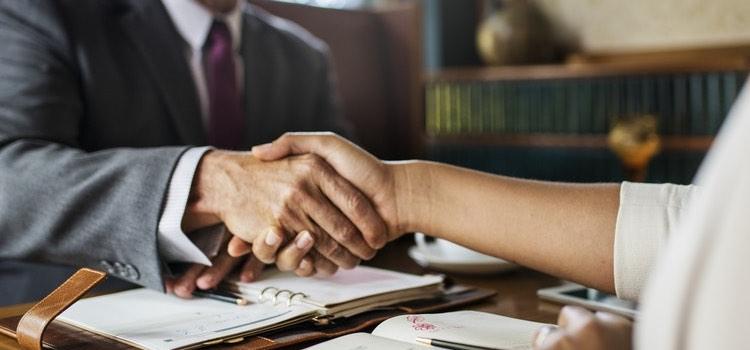 handshake on deal